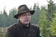 Václav Jansa, náměstek ředitele Správy KRNAP a vedoucí odboru péče o národní park.
