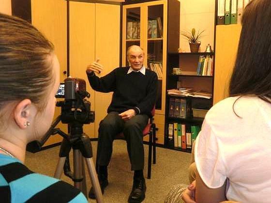 Žáci v Semilech točili příběhy vězně, disidenta i kulaka