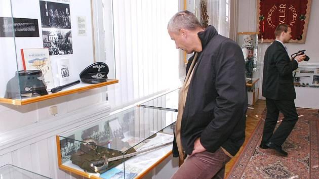 HOSTÉ Z POLSKÉ LUBANĚ při pondělní návštěvě zavítali také do Městského muzea na Rýchorském náměstí.
