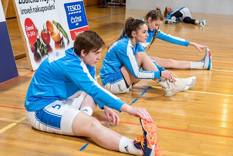 Basketbalistky Trutnova v pohárovém čtvrtfinále padly s pražskou Slavií.