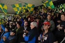 Vrchlabské hokejisty čeká premiérová bitva na legendárním vsetínském Lapači.