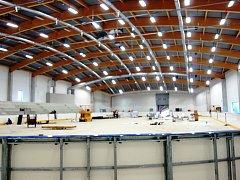 Turnovský zimní stadion, půlka září 2015