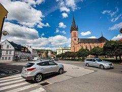 Ve Vrchlabí se chystá přestavba v centru města na náměstí Míru.