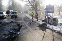 Tragická nehoda v Mladých Bukách