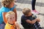 Kalenská pouť přinesla během dne zábavu především dětem, ve večerních hodinách pak dospělým.