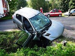 Nehoda v Horní Branné