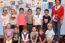 Žáci 1. třídy  ZŠ Svoboda nad Úpou