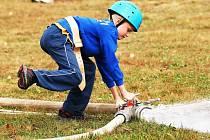 Soutěž mladých hasičů v Kundraticích