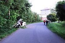 Smrtelná nehoda v Mostku