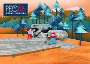 Grafika herní krajiny Pecka.