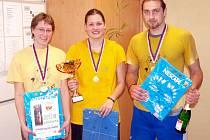 Vítězný tým Lvíčata Havlovice.