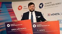 Dominik Mervart ze Dvora Králové nad Labem se stal živnostníkem roku Královéhradeckého kraje.