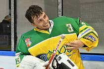Dvorský gólman Josef Čáp byl stavebním kamenem čtvrté výhry HC Rodos v sezoně.