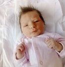PAVLA STRÁNSKÁ se narodila 5. března v 11.47 hodin. Měřila 50 centimetrů a vážila 3,28 kilogramu.