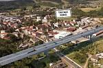 Poříčský most v Trutnově bude na trase D11 nejdelší na dálničním úseku k hranicím, bude měřit 713 metrů. Vysoký bude 30 metrů.
