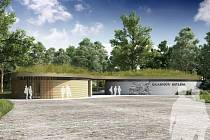 Budoucí objekt u Betléma.