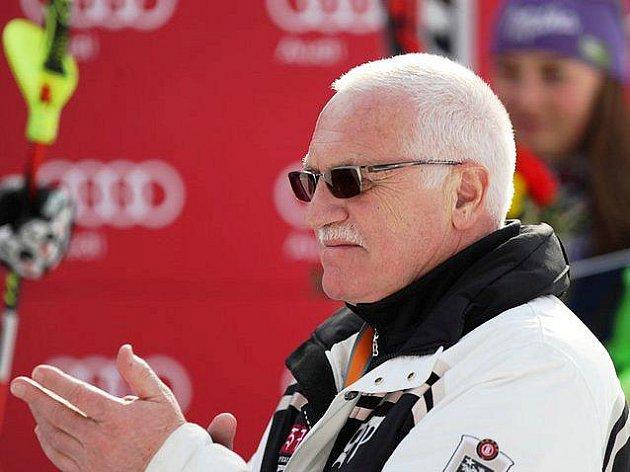 Audi FIS Ski World Cup 2011 - Špindlerův Mlýn - Václav Klaus