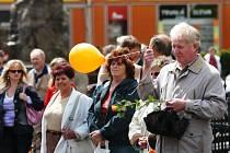 Další mítink ČSSD - ve Dvoře Králové