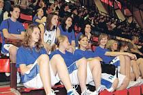 Basketbalistky z Gymnázia Trutnov na republikovém finále AŠSK ČR