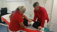 V Medical Pointu ve středisku Svatý Petr ve Špindlerově Mlýně řešili v minulé sezoně u lyžařů nejčastěji poranění kolen.
