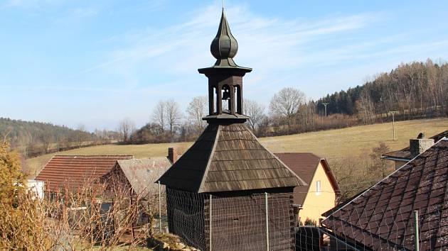 Zvonička v Maršově u Úpice