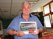 Za druhé místo Jan Romančák obdržel poukaz na předplatné v hodnotě 500 korun.