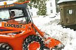 Říjnový příval sněhu v Horním Maršově