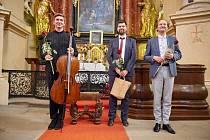 Na festivalu v Kuksu zahráli violoncellista Tomáš Jamník a varhaník Tomasz Soczek.