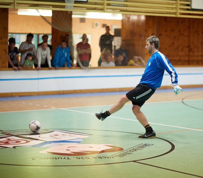 Horňák cup 2013 - brankář Petr Kobos
