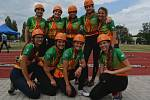 Obrovského úspěchu dosáhl o víkendu Sbor dobrovolných hasičů Hřibojedy, jehož ženský oddíl si v Hradci Králové vybojoval právo účasti na mistrovství republiky v požárním sportu.