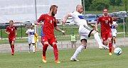 Čeští fotbalisté ve svém druhém utkání Region´s Cupu porazili San Marino 2:0.