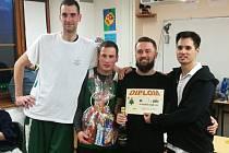Vítězný tým turnaje.