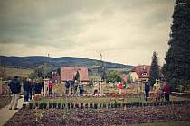 Hřbitov městysu doznal výrazně změny svého vzezření.