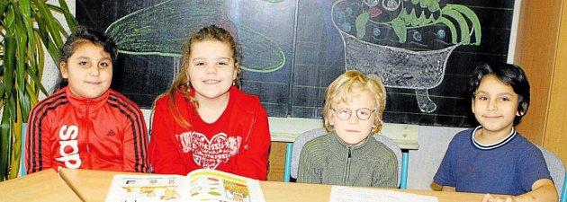 Žáci 1.třídy ZŠ a Praktické školy vTrutnově Horním Starém Městě