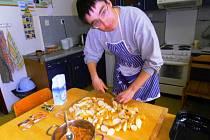 MODERNÍ VYBAVENÍ cvičné kuchyně získají zdravotně postižení lidé, kteří se ve vrchlabském středisku Světlo Diakonie ČCE učí samostatnosti.