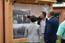 Otevření stezky v Domově důchodců Tmavý důl.