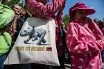 Safari park ve Dvoře Králové se slavnostně rozloučil s nosorožci, kteří budou v červnu převezeni do Afriky.