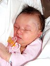 KATEŘINA MICHELLE PÁLOVÁ se narodila Petře a Marianovi 5. září v 0.25 hodin. Vážila 3,6 kilogramu a měřila 52 centimetrů. Domov bude mít v Broumově.