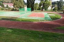 Rekonstrukce sportovního stadionu manželů Zátopkových ve Vrchlabí je hotová.