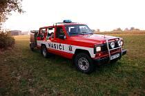 Nový Nissan Patrol žďárských hasičů