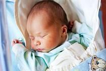 JAN HAMÁČEK se narodil v jilemnické porodnici 22. června a doma je s rodiči ve Studenci.
