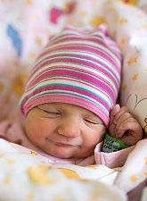 GABRIELA PUŠPACHEROVÁ se narodila Veronice a Antonínovi 15. ledna ve 23.38 hodin. Měřila 47 centimetrů a vážila 2,7 kilogramu. Rodina bude bydlet v Jilemnici.