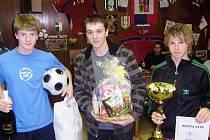 Horňák cup 2008: Vítězové z Trut teamu přebírají ceny