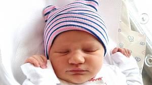 ZUZANA MERTLÍKOVÁ se narodila 16. ledna ve 14.41 hodin rodičům Lucii a Tomášovi. Vážila 2,97 kg a měřila 49 cm. Rodina bydlí v Janských Lázních.