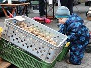 V Trutnově se konal premiérový farmářský trh