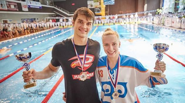 Vítězi hlavního závodu se loni stali Pawel Werner z Polska a domácí Martina Elhenická.