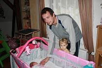 David Švajdler se svojí dcerkou Terezkou.
