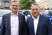 Petr Fiala a Ivan Adamec, ODS