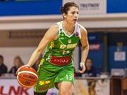 Bývalá trutnovská kapitánka Milena Prokešová se v neděli představila tentokrát v dresu vítězného KP Brno.
