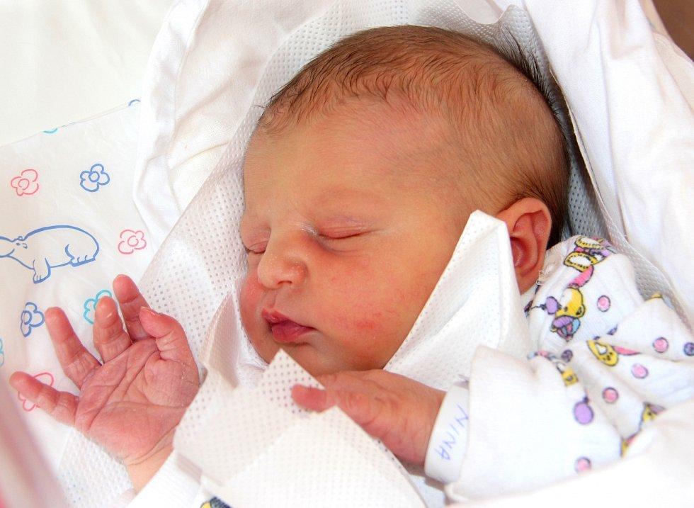 NINA STŘÍTEŽSKÁ se narodila 3. srpna Martině Plhalové a Jaroslavu Střítežskému. Vážila 3,17 kilogramu a měřila 47 centimetrů. Rodina bude mít domov v Meziměstí.